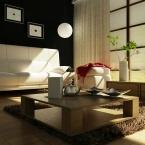 莊公館-簡約風客廳設計規劃案